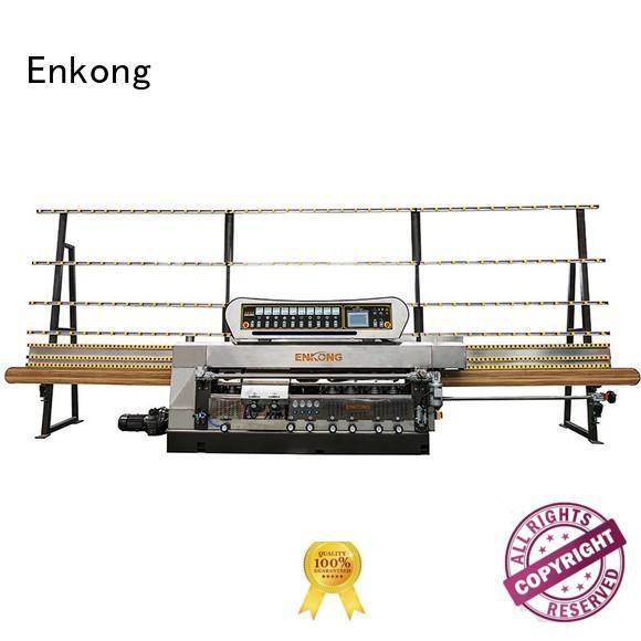 straight-line pencil glass edge polishing machine Enkong Brand