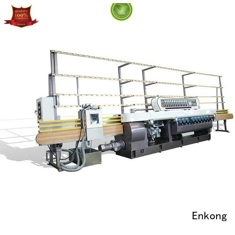 beveling glass Enkong Brand glass beveling equipment factory