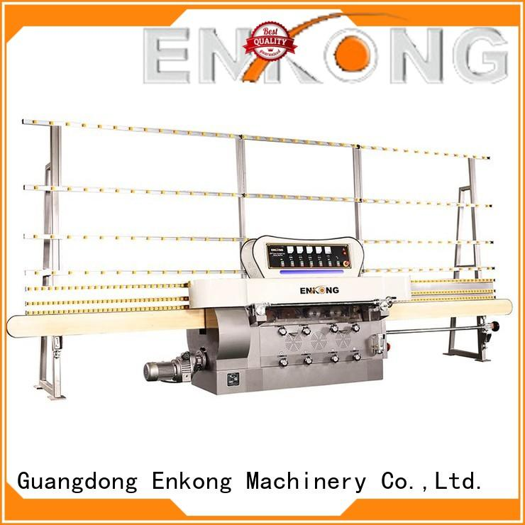 Enkong zm7y glass edging machine supplier for polishing