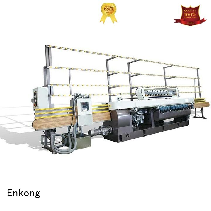 Quality Enkong Brand glass beveling equipment glass straight line