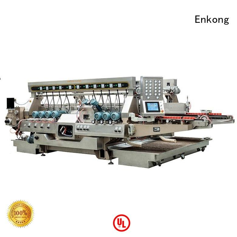 round speed straight-line Enkong Brand glass double edger factory