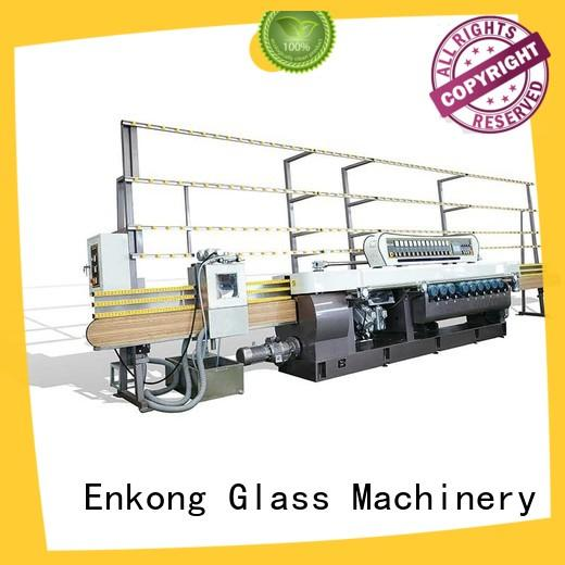 10 spindles glass beveling machine price wholesale for glass processing Enkong