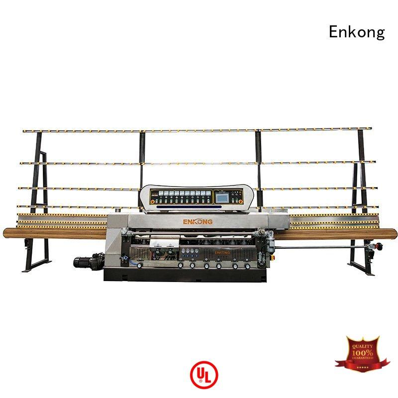 Quality Enkong Brand glass edge polishing machine for sale glass