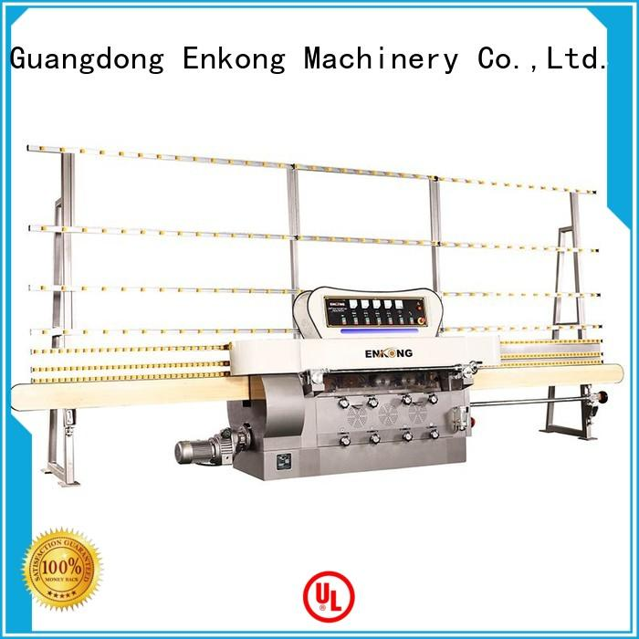 Enkong zm4y glass straight line edging machine wholesale for fine grinding