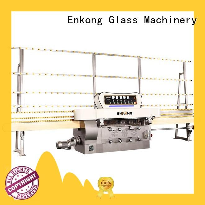 Enkong stable glass edge polishing machine zm11 for fine grinding