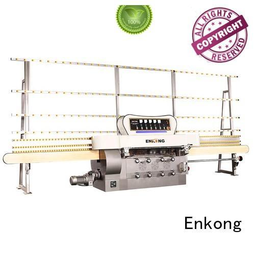 glass edge polishing machine for sale straight-line Enkong Brand glass edge polishing