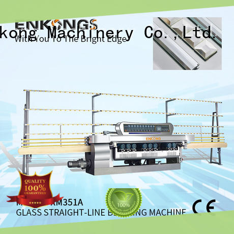 Enkong xm351 glass beveling machine factory direct supply for polishing