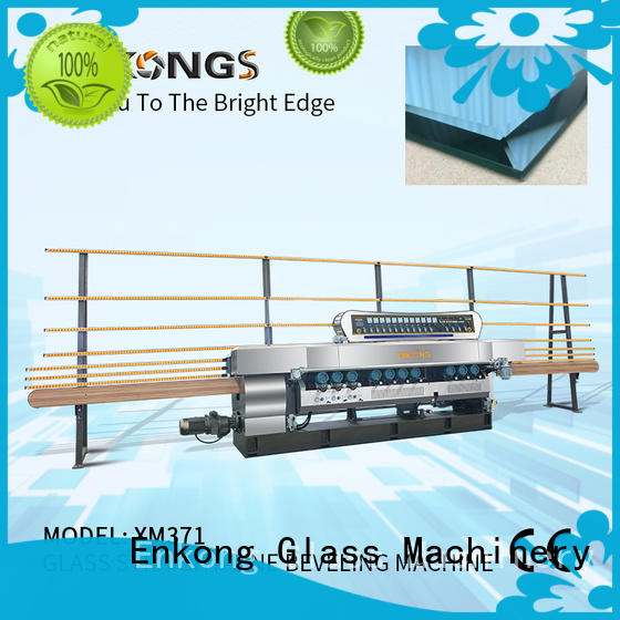 Enkong efficient glass beveling machine series