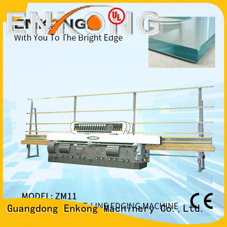Enkong stable glass edge polishing machine supplier for fine grinding