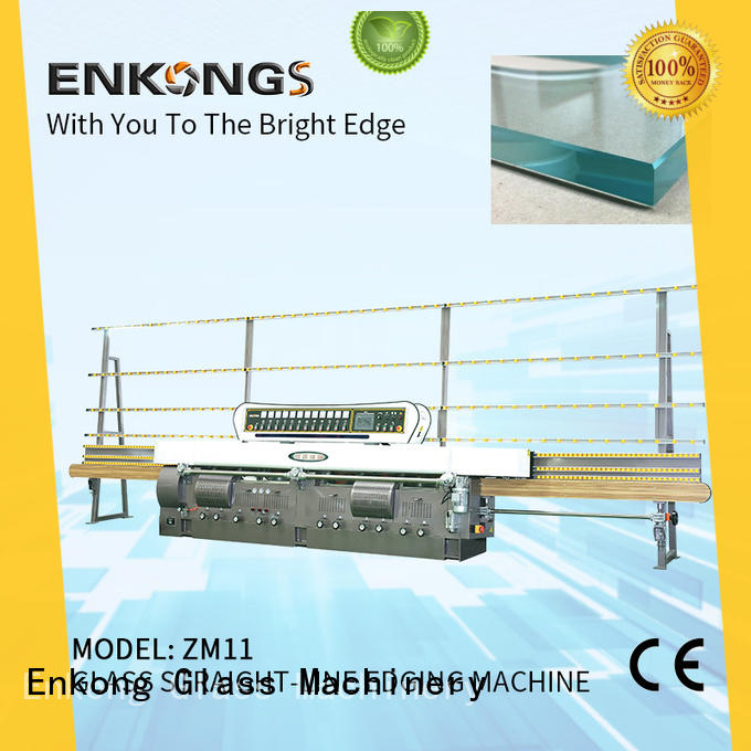 stable glass edge polishing machine zm9 series for fine grinding