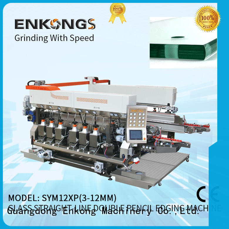 cost-effective glass double edging machine SM 10 series for photovoltaic panel processing