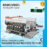 Enkong SM 26 glass double edging machine supplier for round edge processing