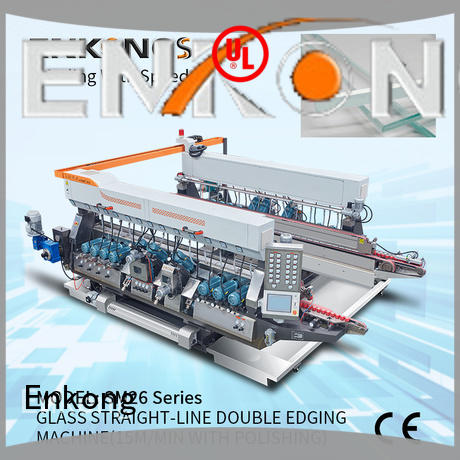 Enkong high speed glass double edger SYM08 for photovoltaic panel processing