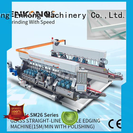 Enkong SM 12/08 glass double edging machine series for household appliances
