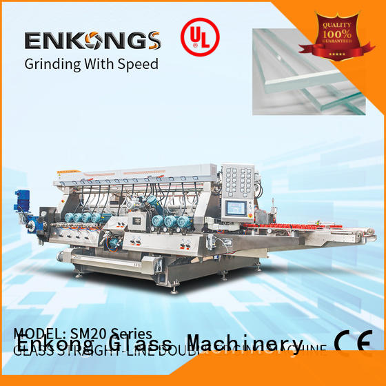 Enkong SM 26 double edger machine series for round edge processing