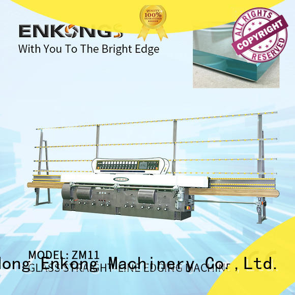 Enkong zm4y glass edging machine series for fine grinding