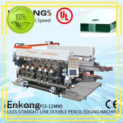 Enkong cost-effective double edger machine series for round edge processing