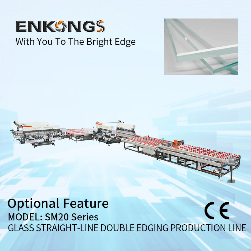 Double Ddging Production Line SM 20 Glass Machine