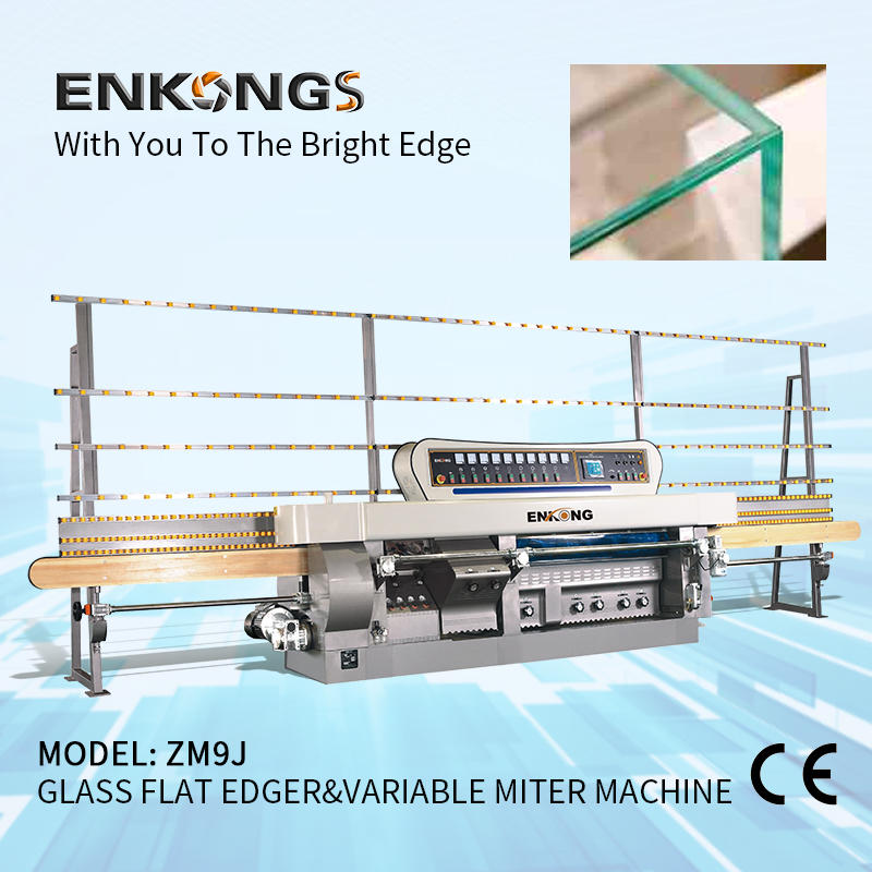 Glass Variable Miter Machine | Enkong Glass Machinery Manufacturer