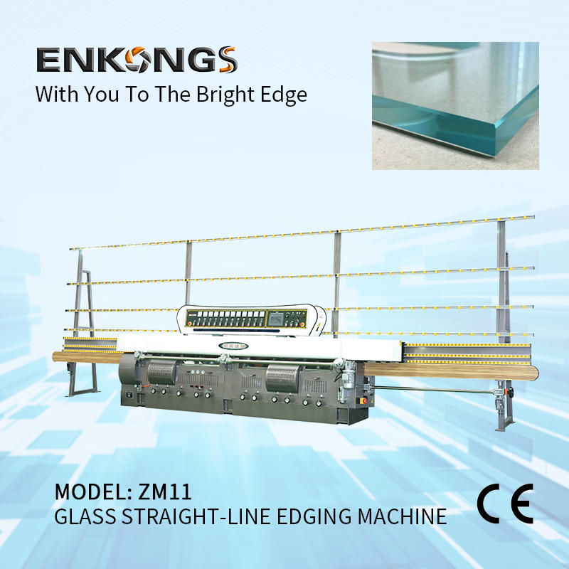 Glass straight-line edging machine ZM11