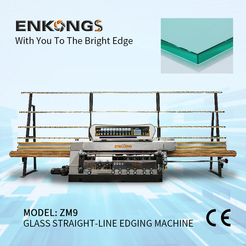 Glass straight-line edging machine ZM9