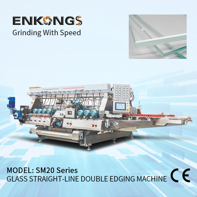 Glass straight-line double edging machine SM 22