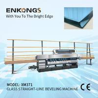 Glass straight line beveling machine XM371
