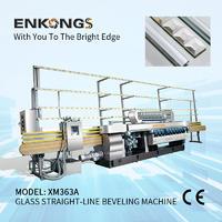 Glass straight-line beveling machine XM363A