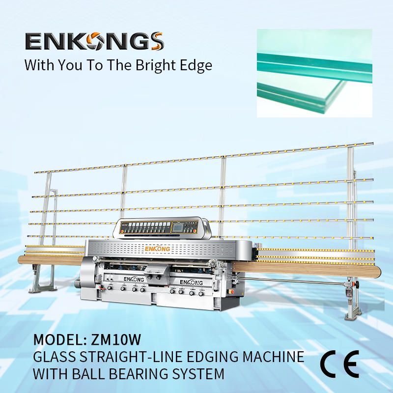 Glass Machiney Straight-Line Edging ZM10W