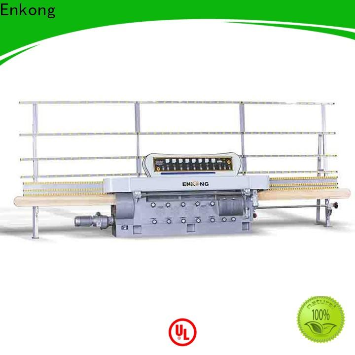 Enkong zm11 glass edging machine customized for polishing
