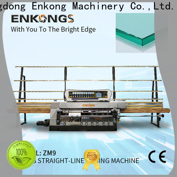Enkong efficient glass edge polishing machine supplier for polishing