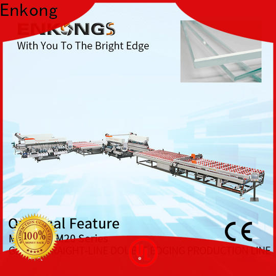 Enkong SM 12/08 double edger machine series for photovoltaic panel processing