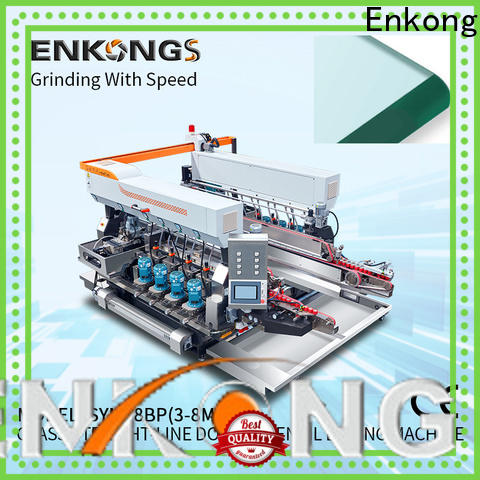 Enkong SM 22 glass double edging machine factory direct supply for photovoltaic panel processing