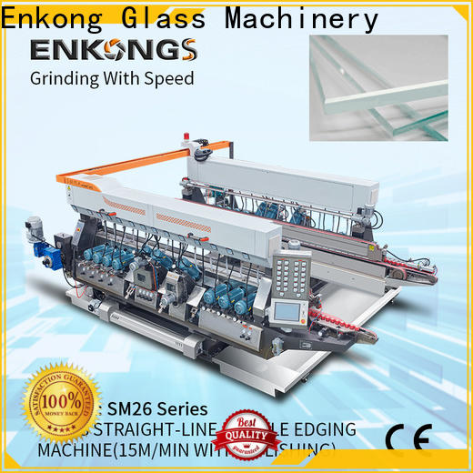 real glass double edging machine SM 26 manufacturer for household appliances