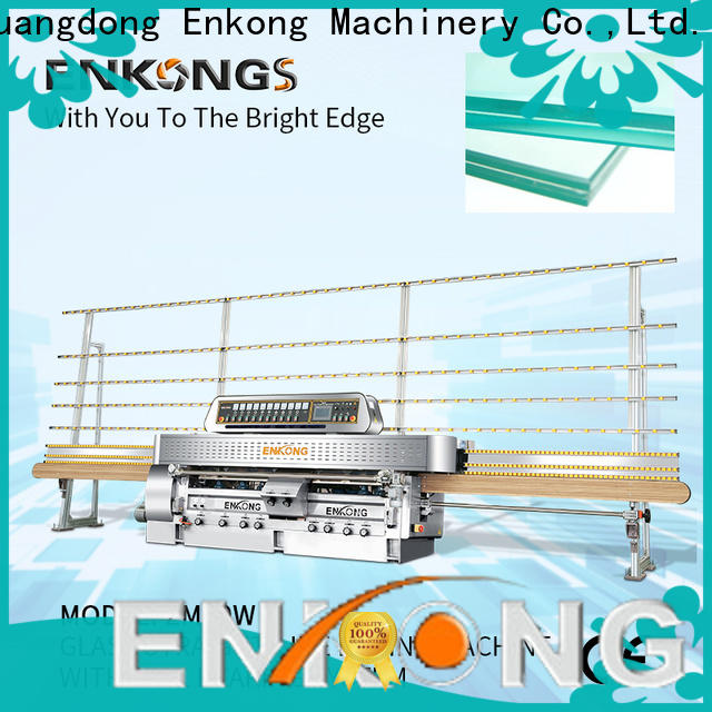 Enkong with ABB spindle motors glass machinery series