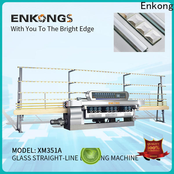 Enkong good price glass beveling machine for sale series for glass processing
