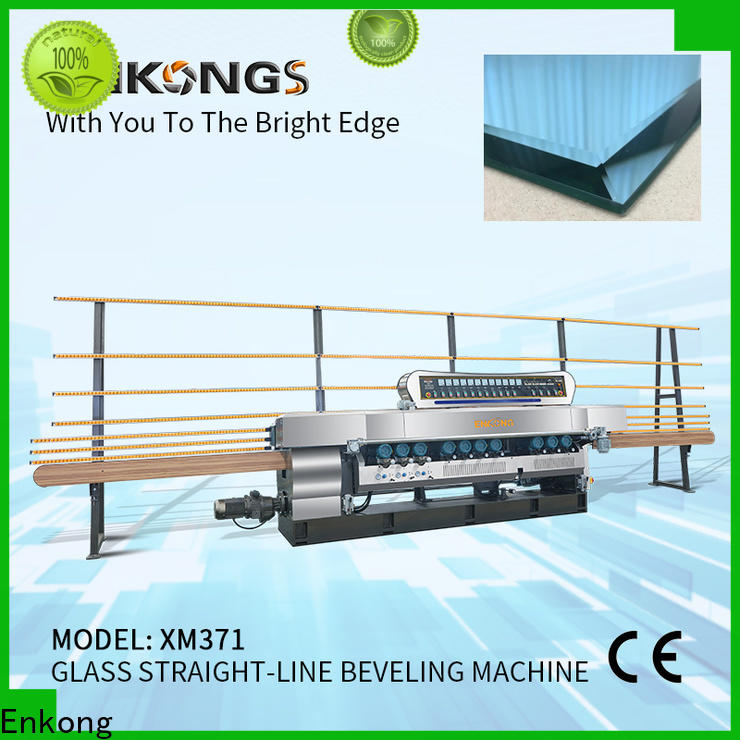 Enkong long lasting glass beveling machine for sale series