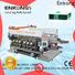 Enkong high speed glass double edging machine manufacturer for round edge processing