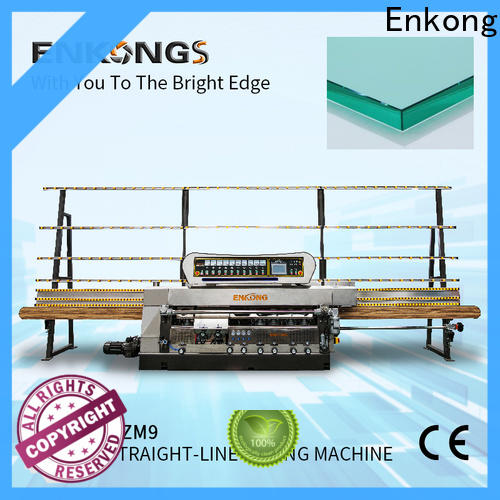 Enkong zm9 glass edging machine wholesale for fine grinding