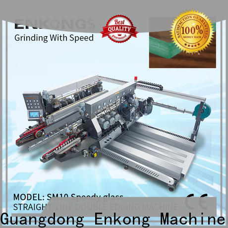 Enkong SM 22 glass double edging machine wholesale for household appliances