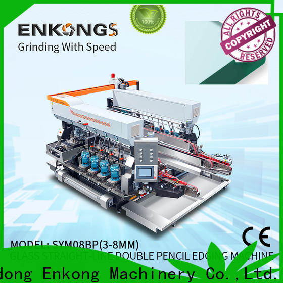 Enkong SM 20 glass double edging machine factory direct supply for photovoltaic panel processing