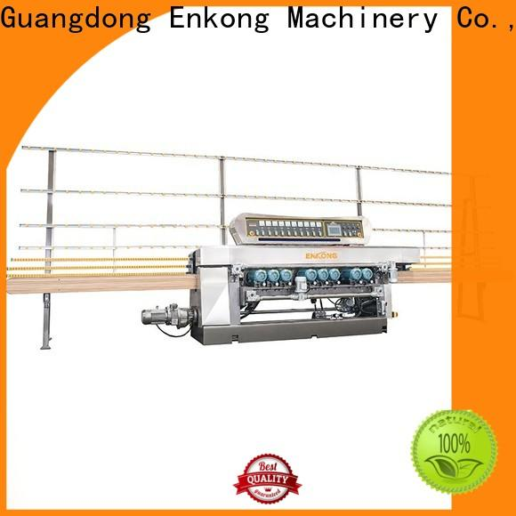 Enkong good price glass beveling machine for sale wholesale for polishing