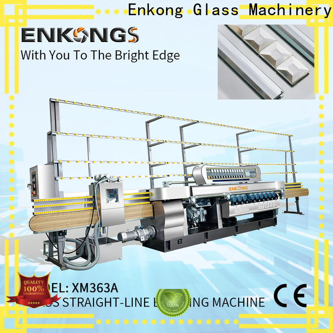 Enkong xm371 glass beveling machine for sale wholesale for polishing