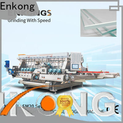 Enkong SM 22 glass double edging machine factory direct supply for household appliances