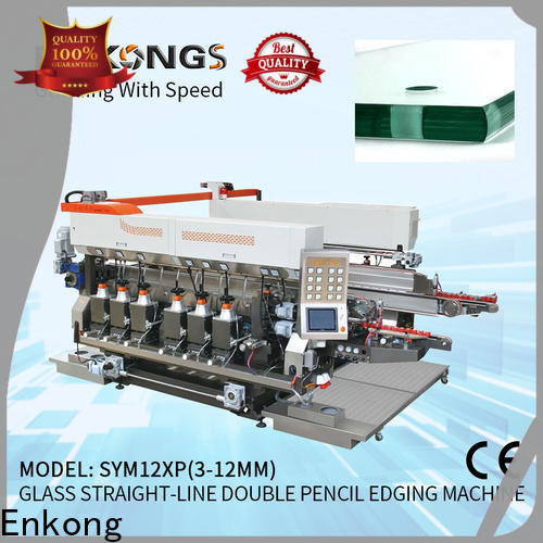 high speed glass double edging machine SM 12/08 manufacturer for photovoltaic panel processing