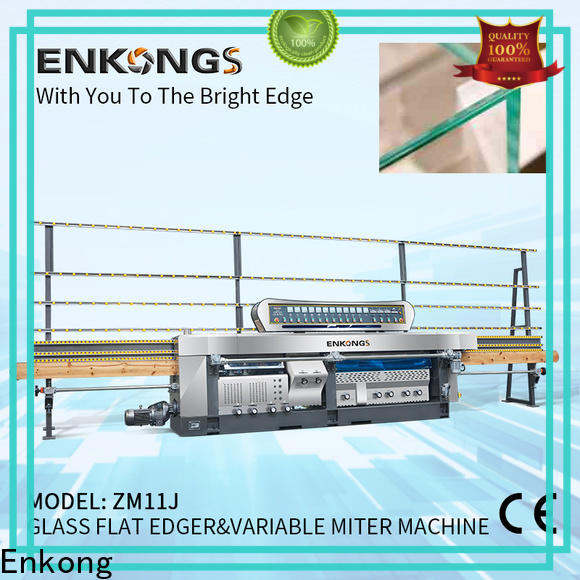 Enkong top quality glass mitering machine supplier for grind