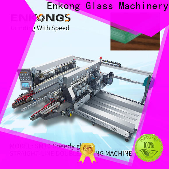cost-effective glass double edging machine SM 10 wholesale for photovoltaic panel processing