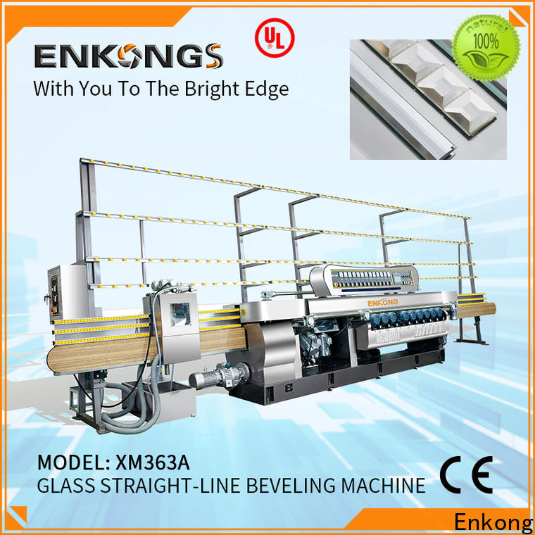Enkong long lasting glass beveling machine for sale wholesale