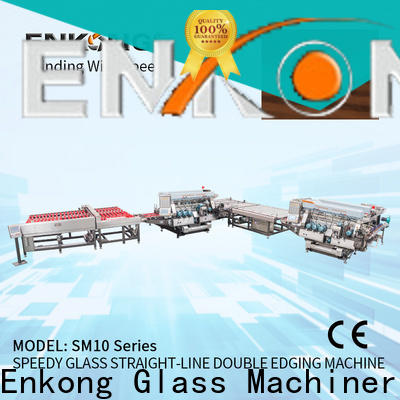Enkong SM 26 double edger series for photovoltaic panel processing
