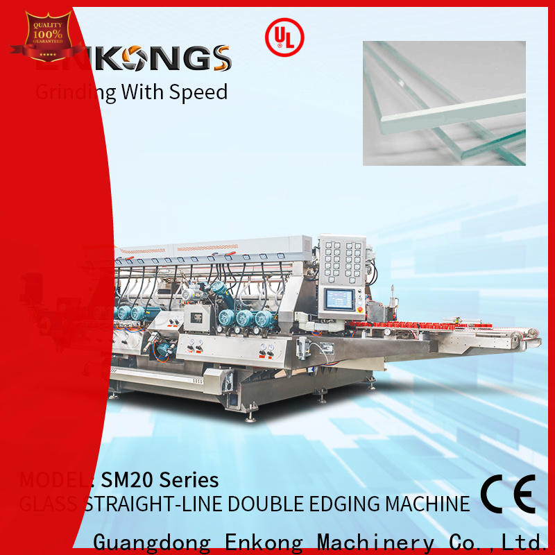 high speed double edger machine SM 10 wholesale for round edge processing